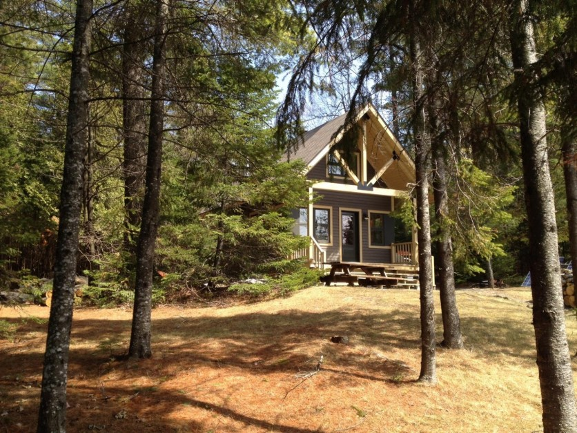 Discover the new cottage for rent at Parc national de Frontenac