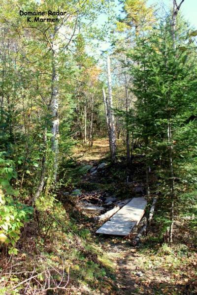Domaine du Radar - Hiking in Saint-Sylvestre - Lotbinière