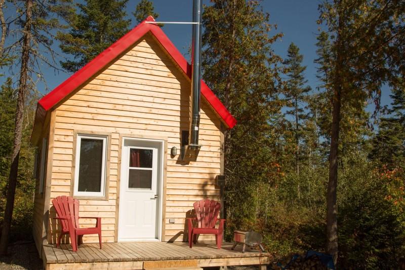 Les Micro Chalets Des Appalaches Cabins House Condos In Sainte