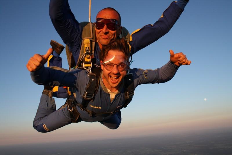 parachutisme a levis