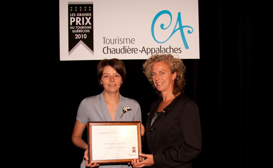 Grands Prix du Tourisme 2010 - Parc des Appalaches - Adventures and outdoors activities