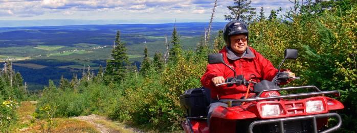ATV - Montagne de la Grande Coulée