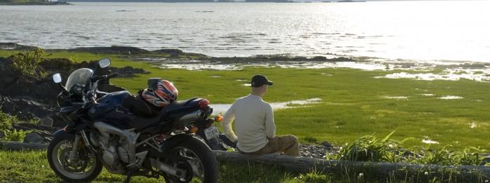 Mototourisme en Côte-du-Sud