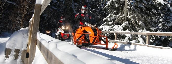 Snowmobile - Parc régional Massif du Sud