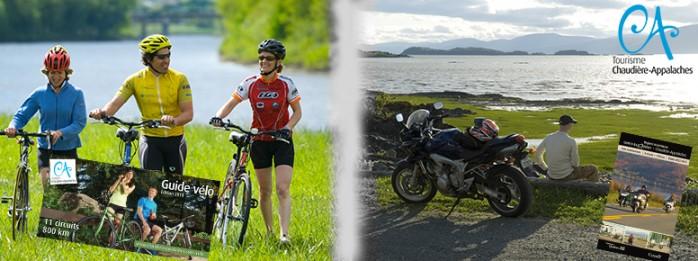 Offres publicitaires - Guide vélo et carte mototourisme