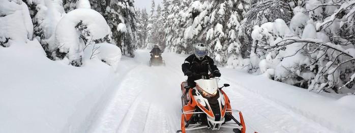 Snowmobile - Mont-du-Midi