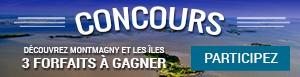 Concours - Découvrez Montmagny et les Îles - 3 forfaits à gagner