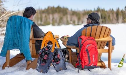 Promotion l'hiver au chalet