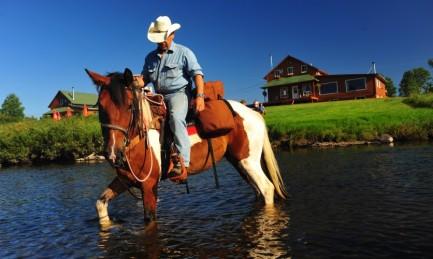 Baignade et randonnée à cheval
