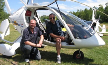 30 minute discovery flight in gyroplane
