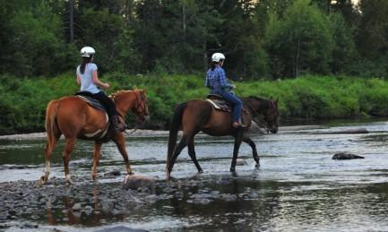 Randonnée à cheval et Spa