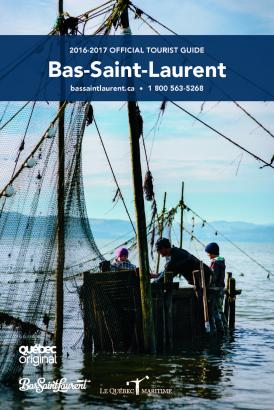 Bas St-Laurent official tourist guide 2017-2018