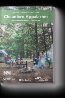 2017-2018 Chaudière-Appalaches Official Tourist Guide
