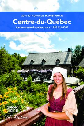 Official tourist guide Centre-du-Québec 2017-2018