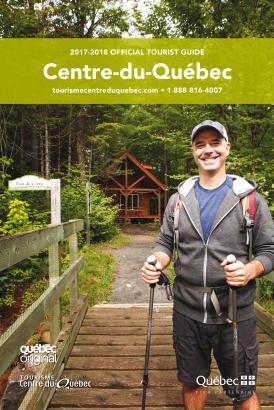 Official tourist guide Centre-du-Québec 2017-2018