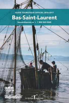 Guide touristique officiel Bas St-Laurent 2017-2018