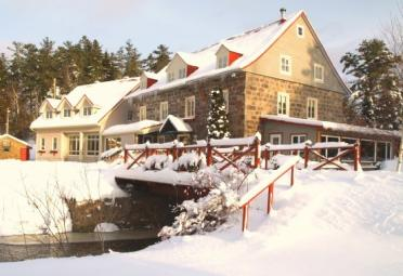 Cross-country skiing, bed & breakfast - Auberge des Glacis