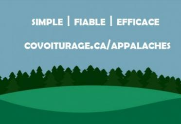 Covoiturage Appalaches - covoiturage mrc appalaches