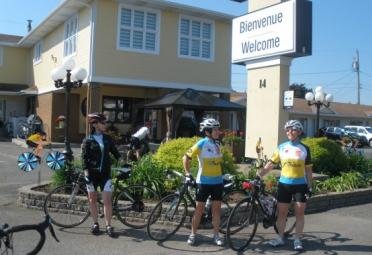 Cycling adventure package - Motel Sympathique