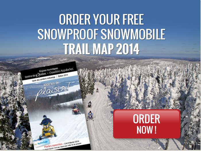 Order Your Free Snowproof Snowmobile Trail Map 2014