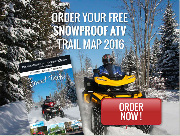 Order Your Free Snowproof ATV Trail Map 2015