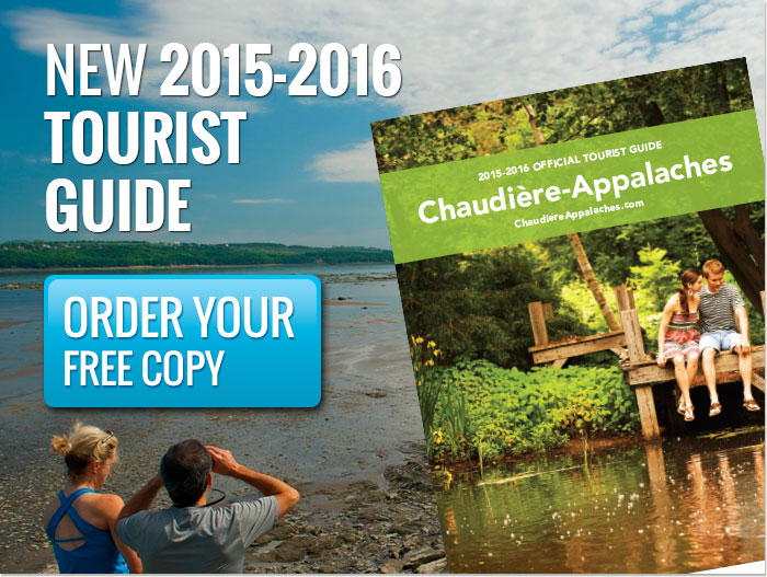 Order Your Free Official Tourist Guide Chaudière-Appalaches 2015-2016