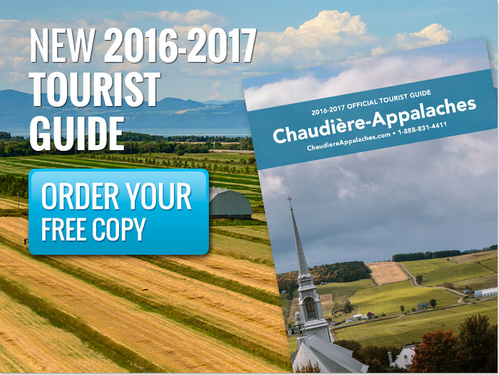Order Your Free Official Tourist Guide Chaudière-Appalaches 2016-2017