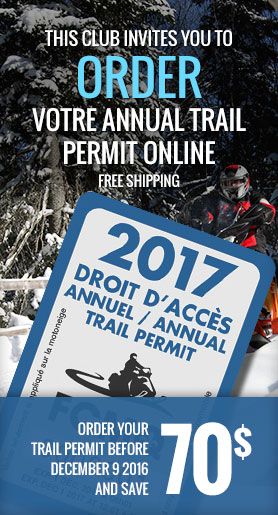 Order your annual trail permit