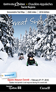 Snowmobile Trails Map 2016 - snowproof